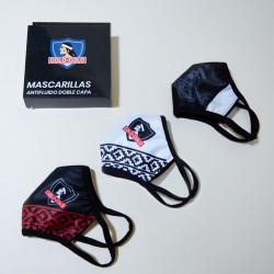 Pack 3 Mascarillas Colo Colo
