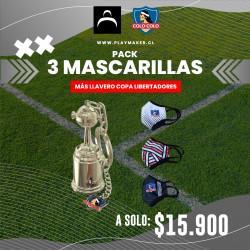 Mascarillas + Llavero Colo...