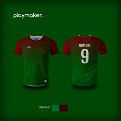 Camiseta Playmaker Fútbol [AI]