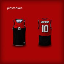 Camiseta Playmaker Basket [OC]