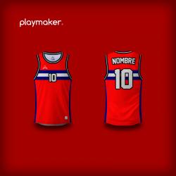 Camiseta Playmaker Basket [MA]