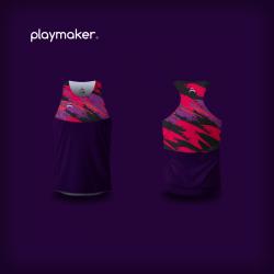Camiseta Playmaker Running...